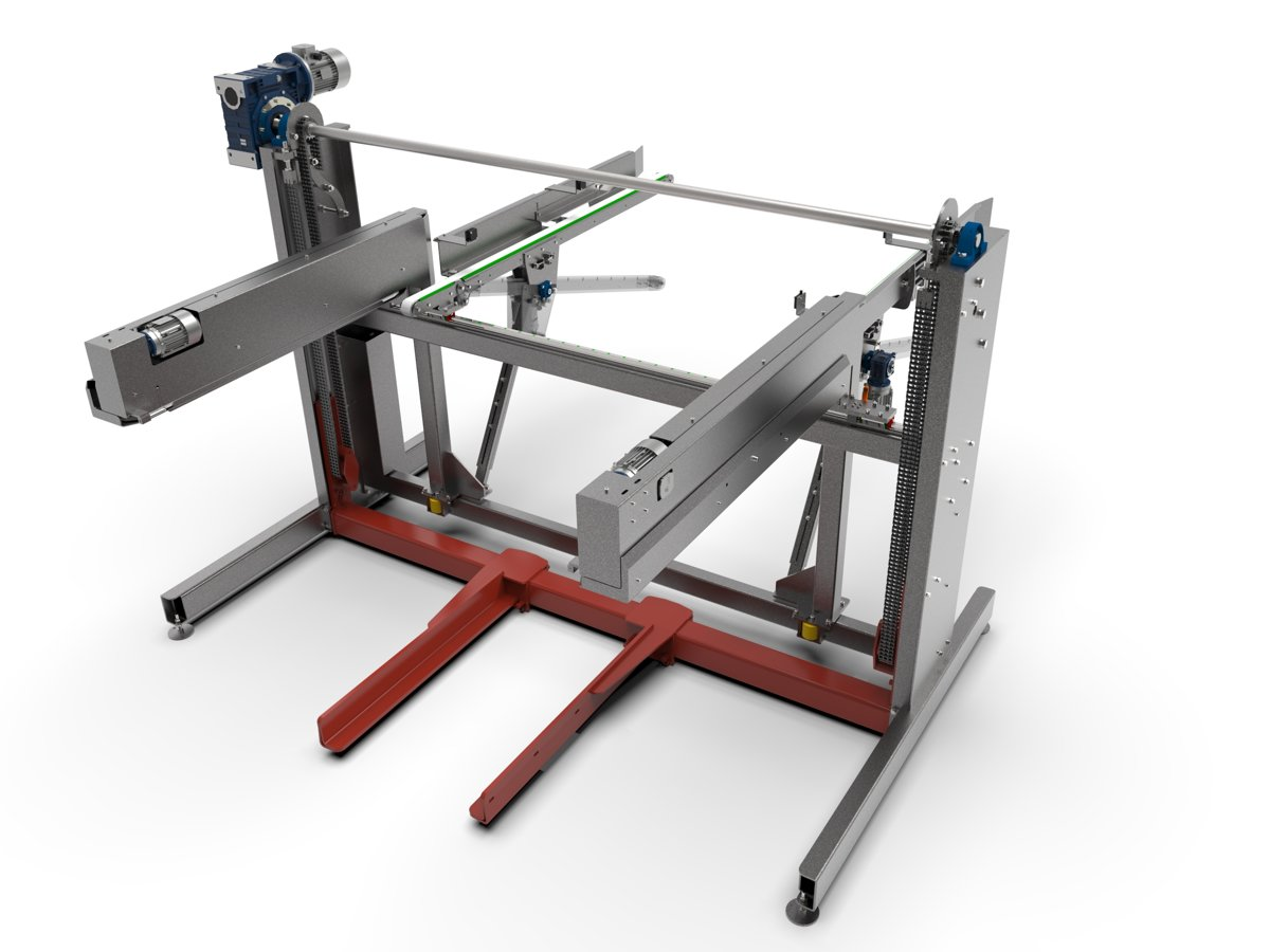 flexi stacker - forma - timber stacker