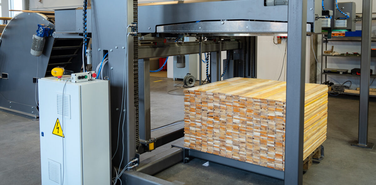 pallet board stacker